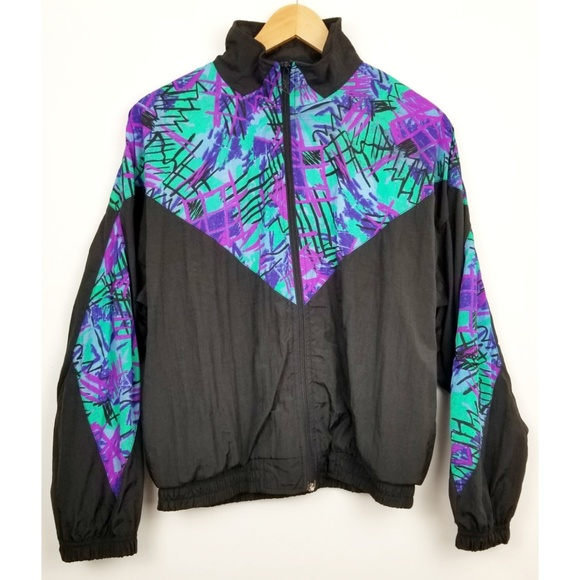 eee310575b08c Reebok medium vintage 90s windbreaker jacket